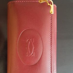 Cartier Must De Cartier 6 Key Key Ring Holder Case